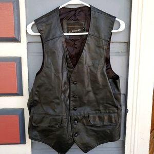Vintage Men's Leather Vest